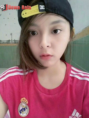 gadis bola-cantik-lugu-real madrid-girl