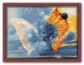 "Скачать схему вышивки Rogoblen 5.34 ""Butterfly Wings"""