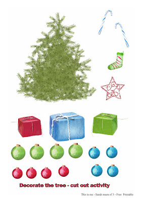 free make your own christmas paper tree