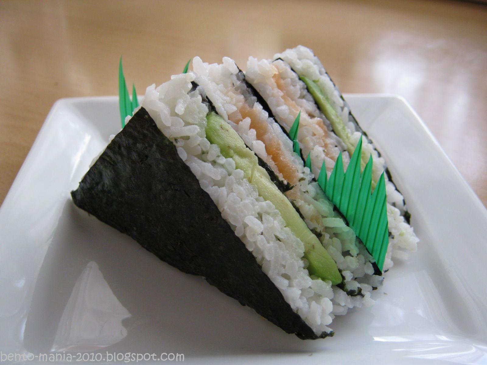bento mania verr ckt nach der japanischen lunch box rezept des monats sushi sandwich. Black Bedroom Furniture Sets. Home Design Ideas
