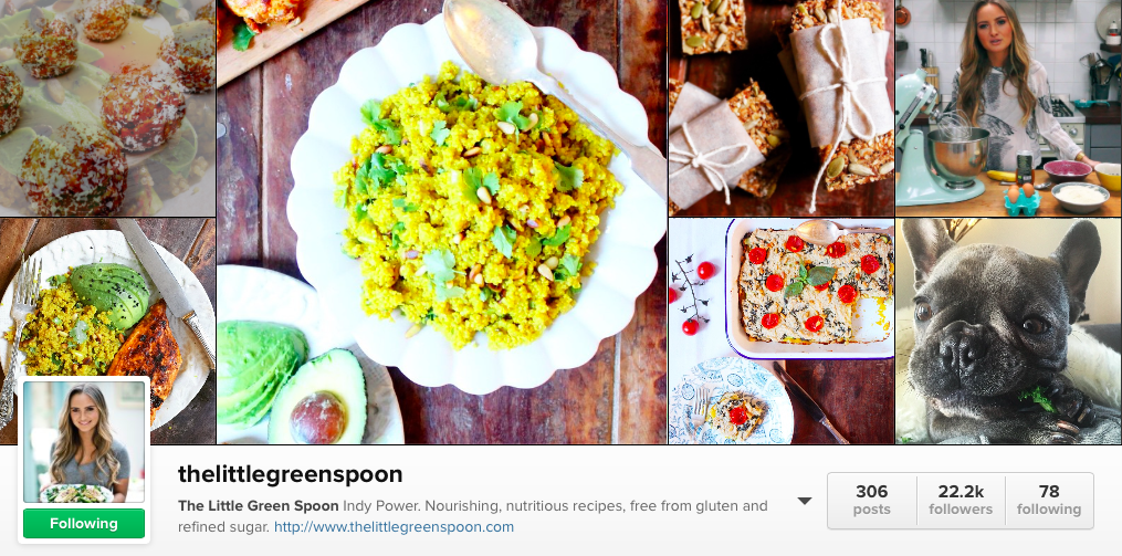 6 Irish Food Instagram to follow - The Little Green spoon