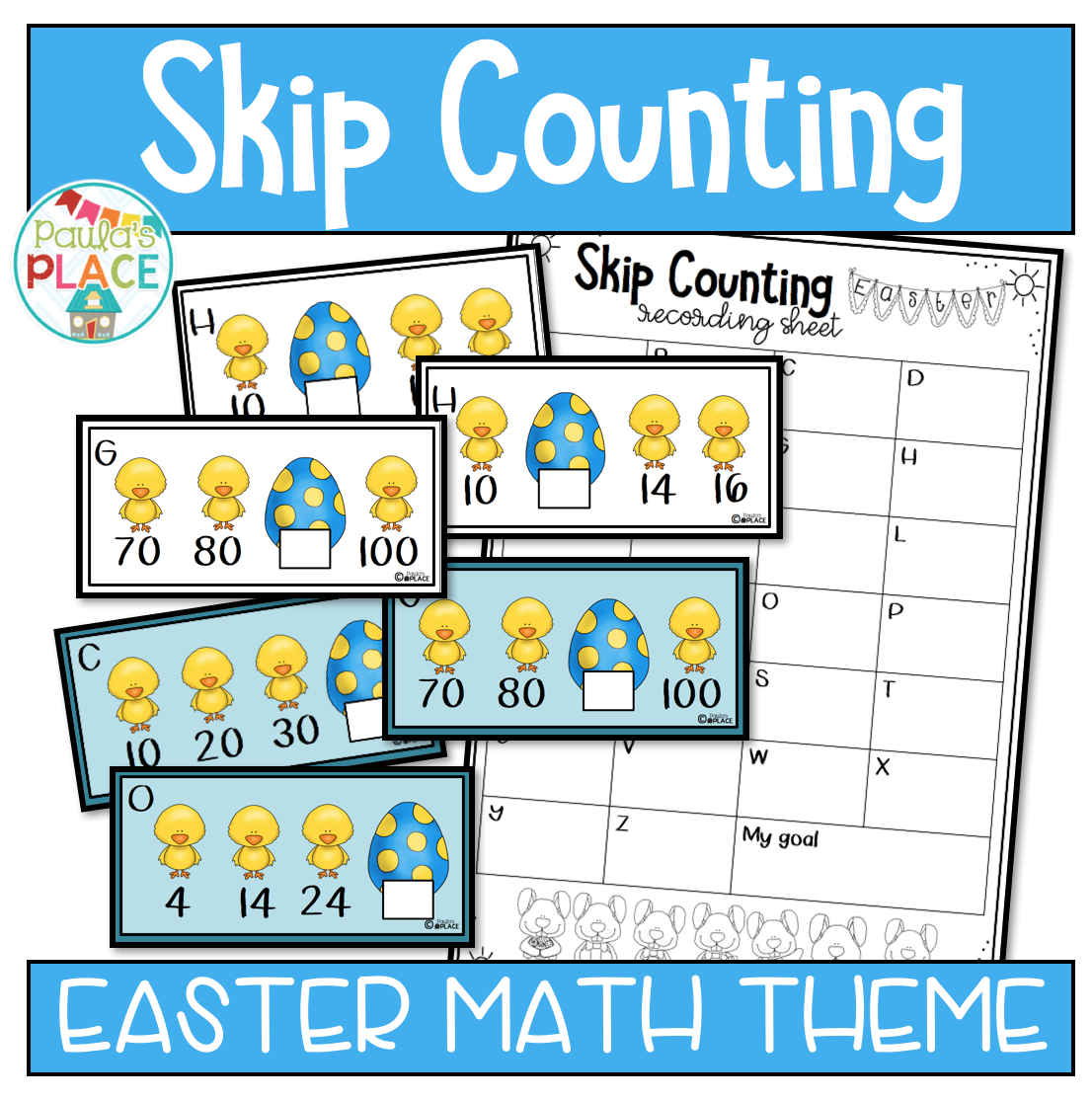 Paulas Place Easter Math Centres