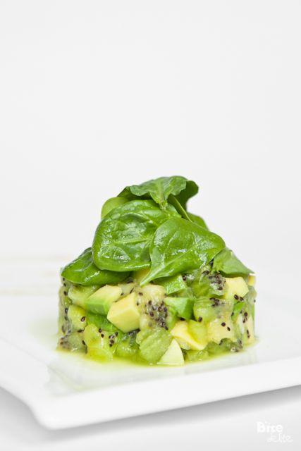 9 chic kiwi recipes and crafts to try: kiwi avocado tartare