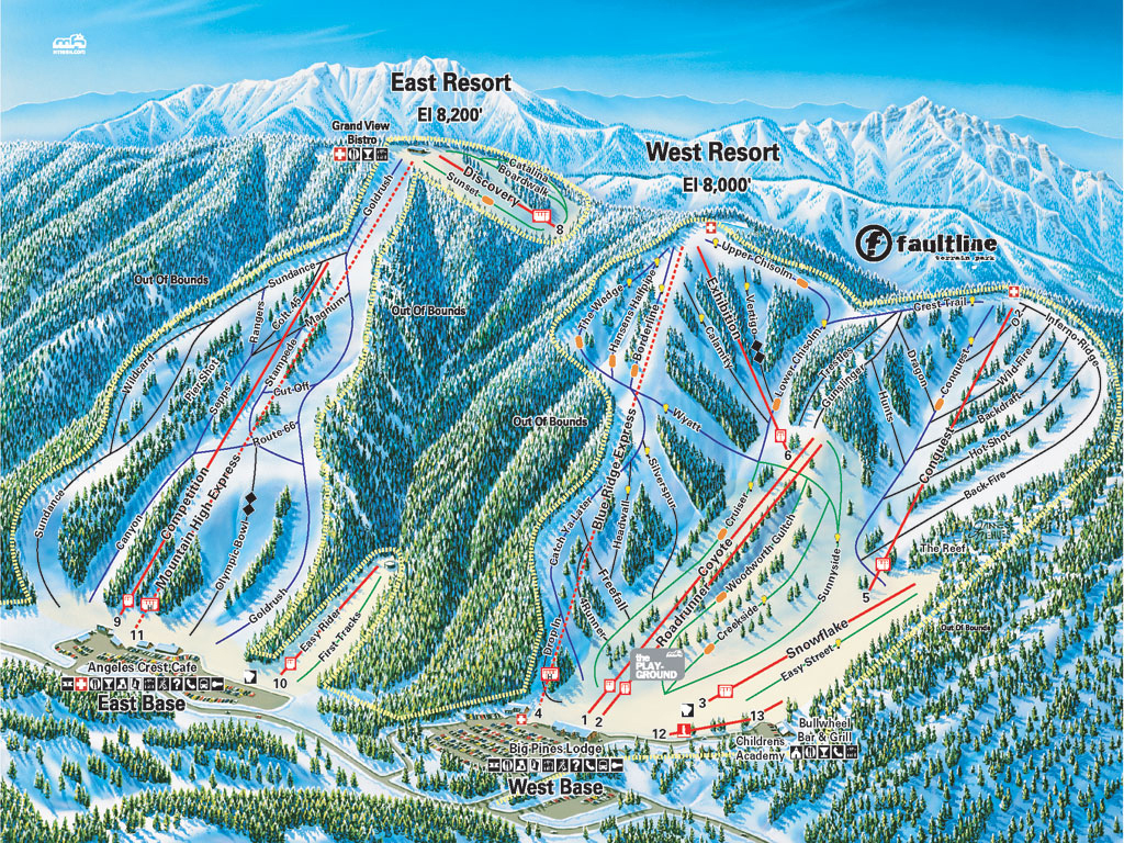 Open Ski Resorts In California
