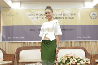 Miss Mizoram 2018 leh Self Help Group aiawhte inkawm