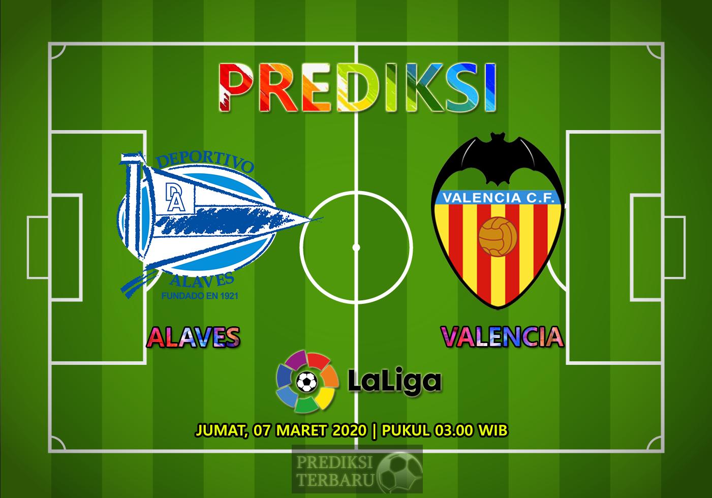 Prediksi Alaves Vs Valencia Sabtu 07 Maret