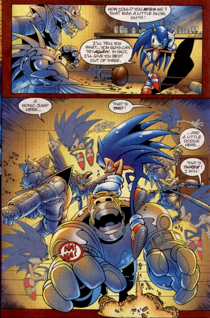 Read online Sonic The Hedgehog comic -  Issue #135 - 8