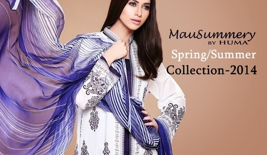 7540c3d31c Here is one more summer fashion sneak peak is present from MauSummery by  Huma. This collection has been already exhibited in Karachi at PC from  11-13 March ...