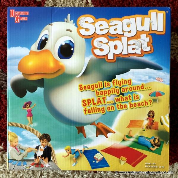 Rambling Through Parenthood : Seagull Splat - A Poo (New!) Game