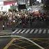 Protesto #foratemer bloqueia Salgado Filho x Bernardo Vieira sentido sul