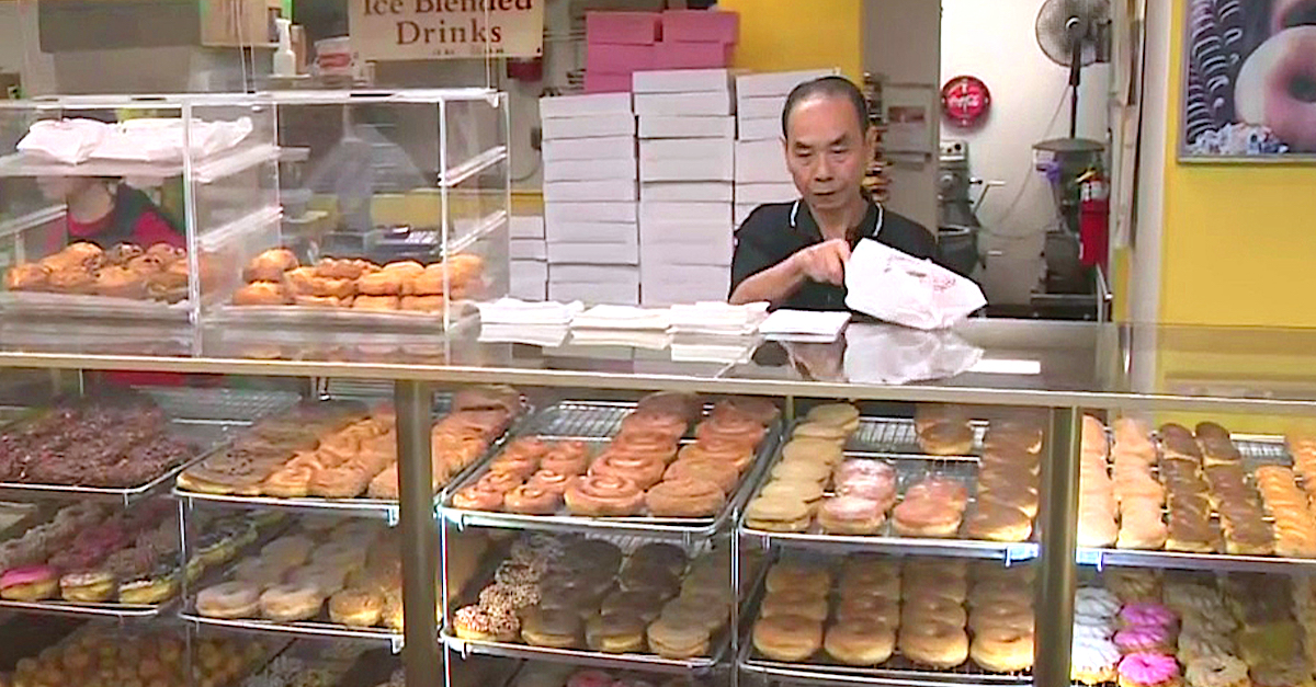 In this little shop by the sea, the only thing sweeter than the donuts is the outpouring of affection for the man behind the counter.