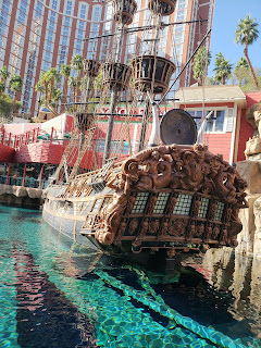 Pirate ship at Treasure Island Las Vegas