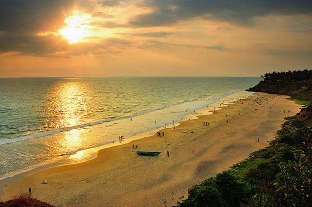 Sunset View at Varkala Beach
