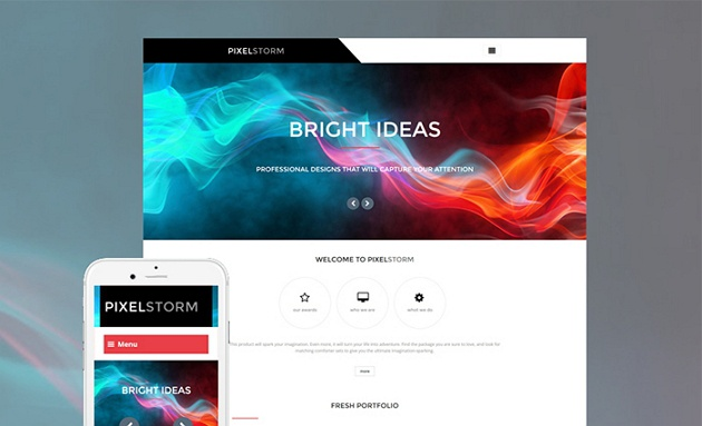 Bright and Ideally Running Design Studio WordPress Theme
