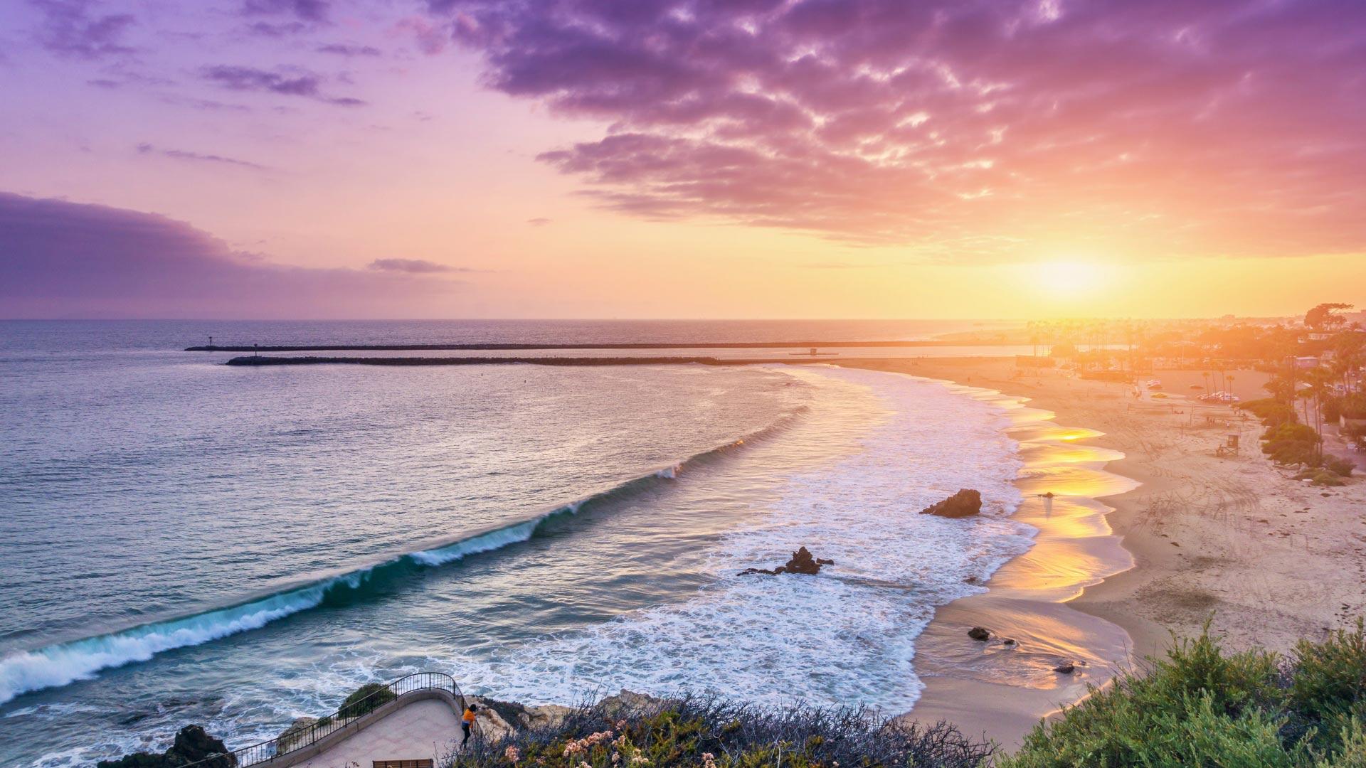 Papel De Parede Praia Maravilhosa