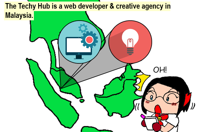 The Techy Hub, web developer, creative agency