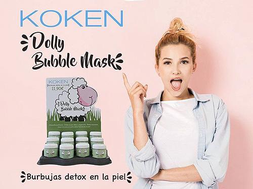 mascarillas coreanas de burbujas koken