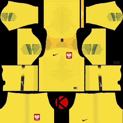 76da0b9ceb8 Poland 2018 World Cup Kit - Dream League Soccer Kits - Kuchalana