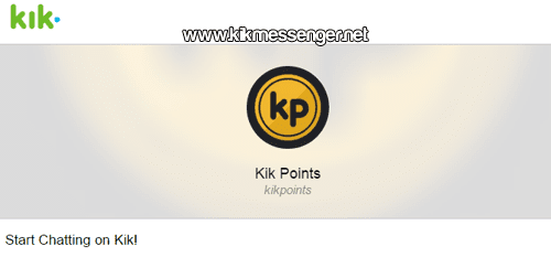 Kik Points