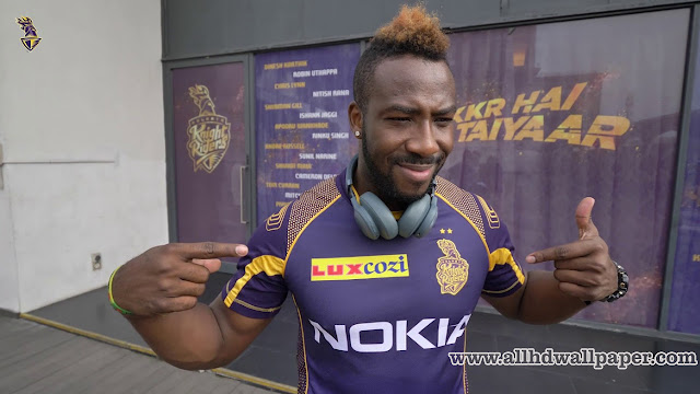 Andre Russell Kkr Hd Photos