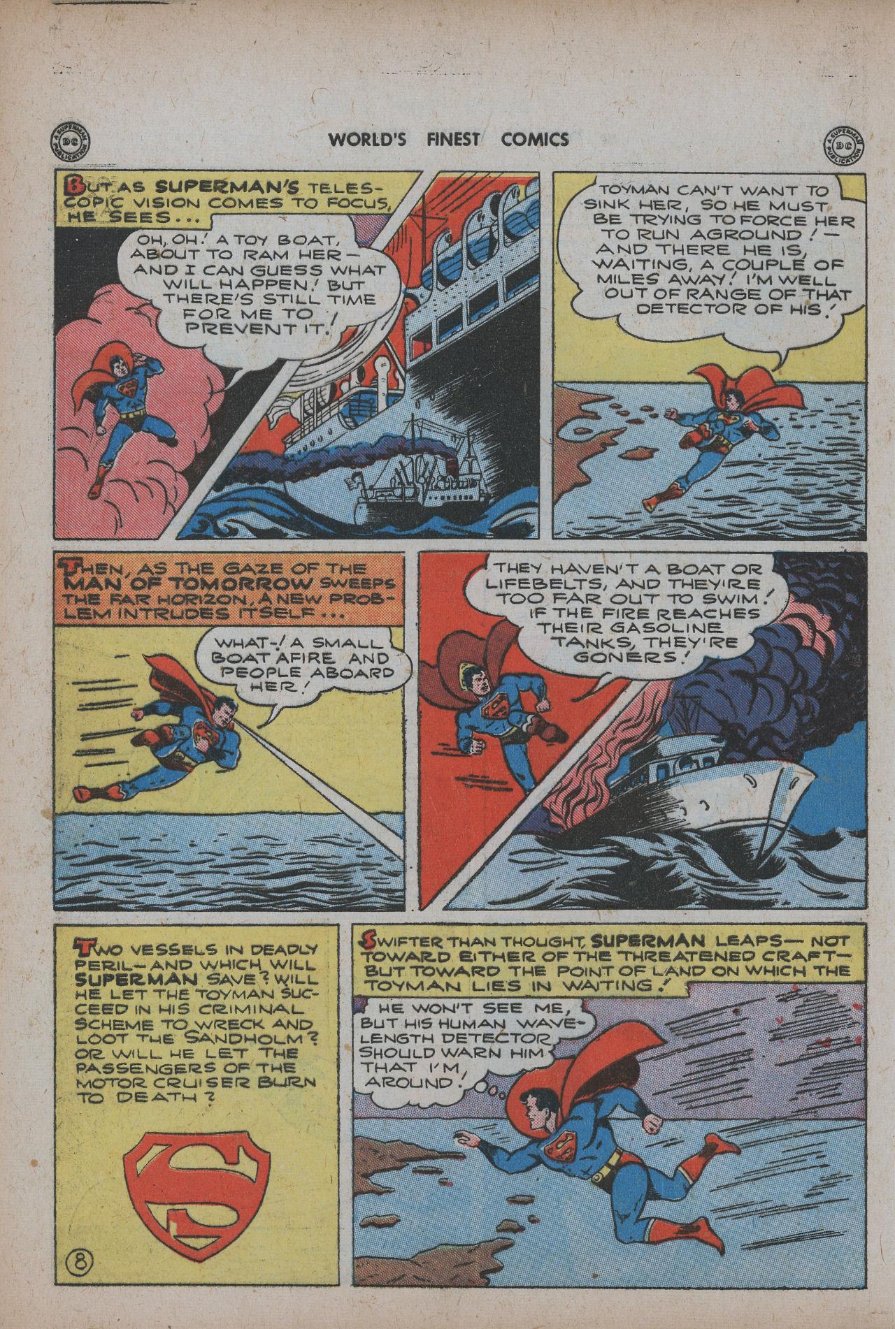 Read online World's Finest Comics comic -  Issue #20 - 10