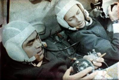 I cosmonauti della missione Sojuz 9, Nikolaev e Sevast'janov.