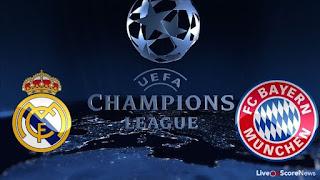 Real Madrid vs Bayern Munich Live stream info