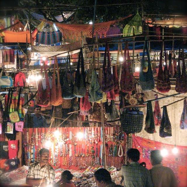 Ingo's Saturday Nite Bazar, Goa, Intia