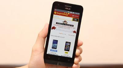 Thay màn hình Zenfone c chính hãng