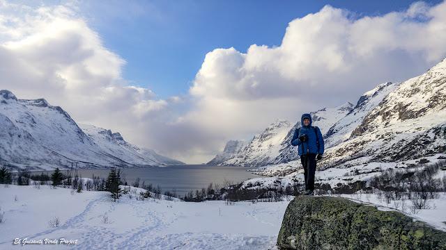 Invierno en Noruega Ártica - Ersfjordbotn, Tromsø por El Guisante Verde Project