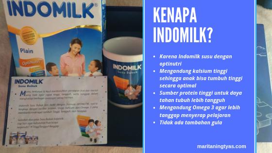 alasan memilih susu bubuk indomilk