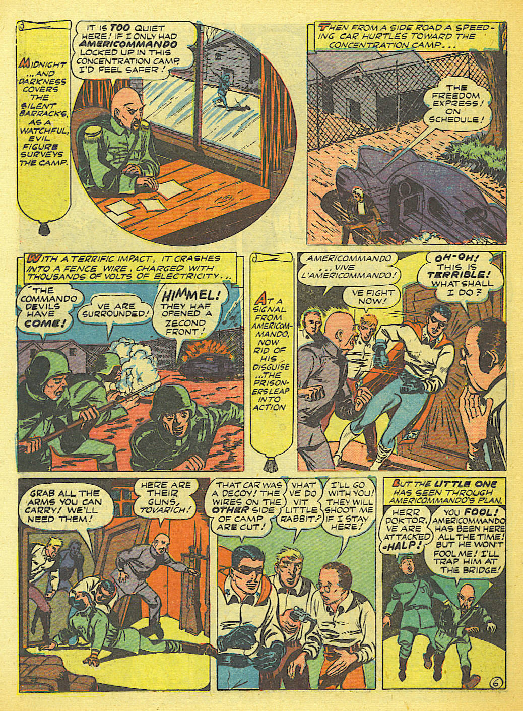 Read online Action Comics (1938) comic -  Issue #58 - 38