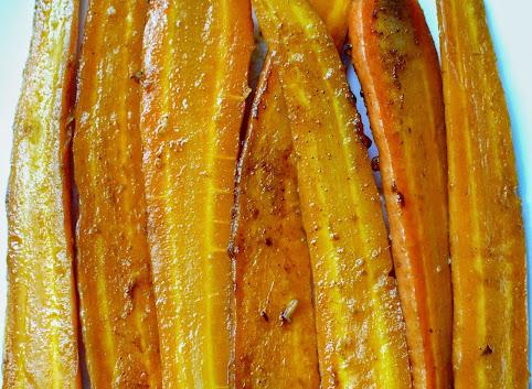 Pikantne marchewki na obiad