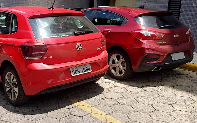VW Polo 200 TSI AT x Chevrolet Cruze LT