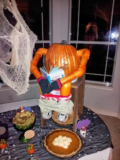 Joyful Family Life Halloween Food 2013 Pumpkin Pie Poop
