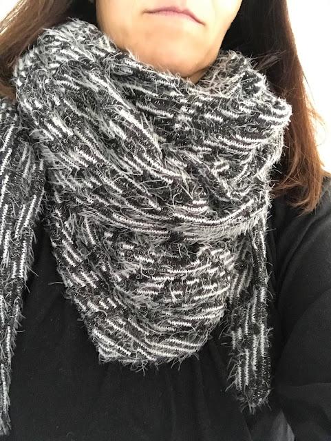 mit Strich und Faden: XL Schal