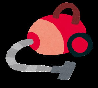掃除用具のイラスト「掃除機」
