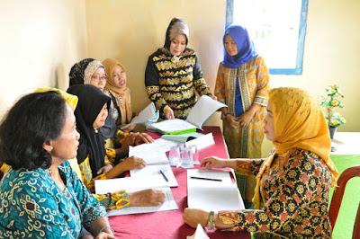 Hadapi Lomba Tingkat Nasional, TP PKK Lampung Timur Lakukan Pembinaan