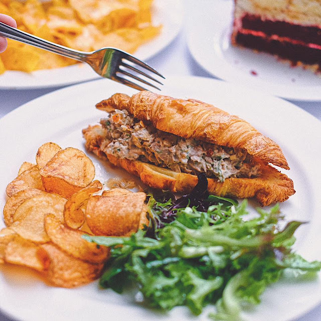Tuna Sambal Matah Croissant