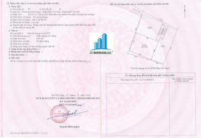 Sổ hồng căn hộ chung cư mini Minh Đại Lộc