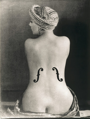 Man Ray,Le violon d'Ingres