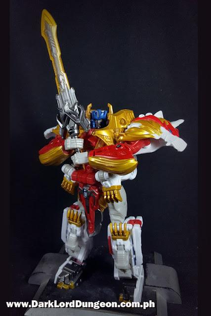 Takara Leo Prime with his Solipsistic Staff
