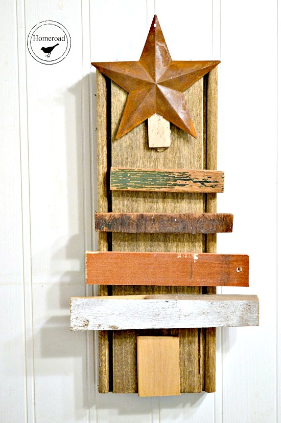 Reclaimed wood Scrap Wood Christmas Tree Round-up . Homeroad.net