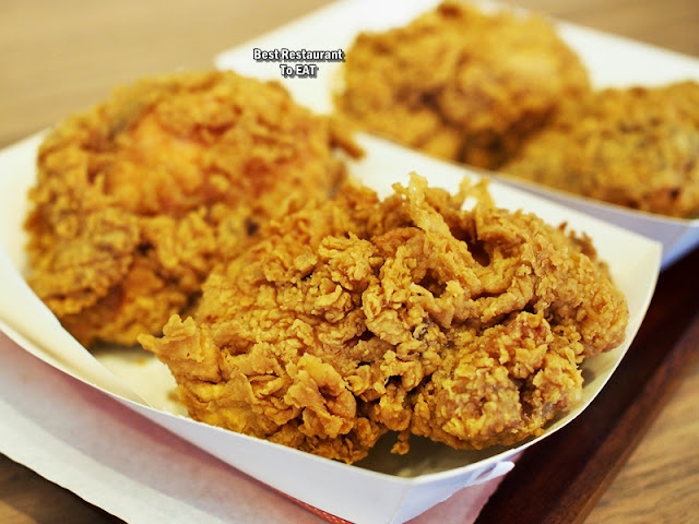 Harley's Menu - Fried Chicken