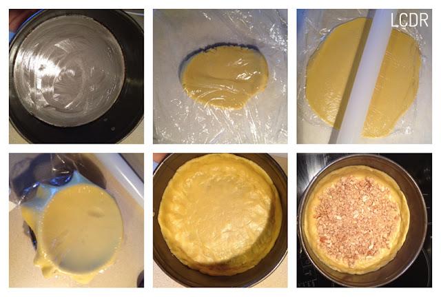 Receta de pastel tipo 'pie' de ciruelas: estirado de la masa