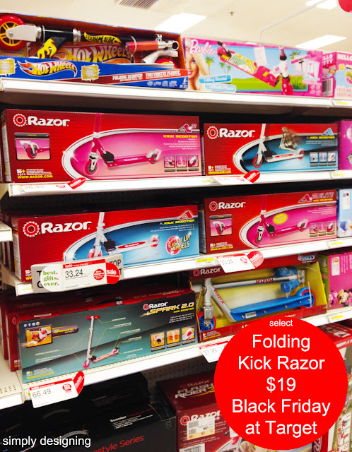 Razor Scooter Black Friday Deals at Target #MyKindofHoliday