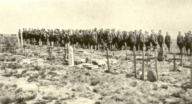 Graves on Kajmakcalan - Kajmakcalan Battle – 12 - 30 September 1916