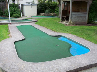 Crazy Golf in Weston-Super Mare