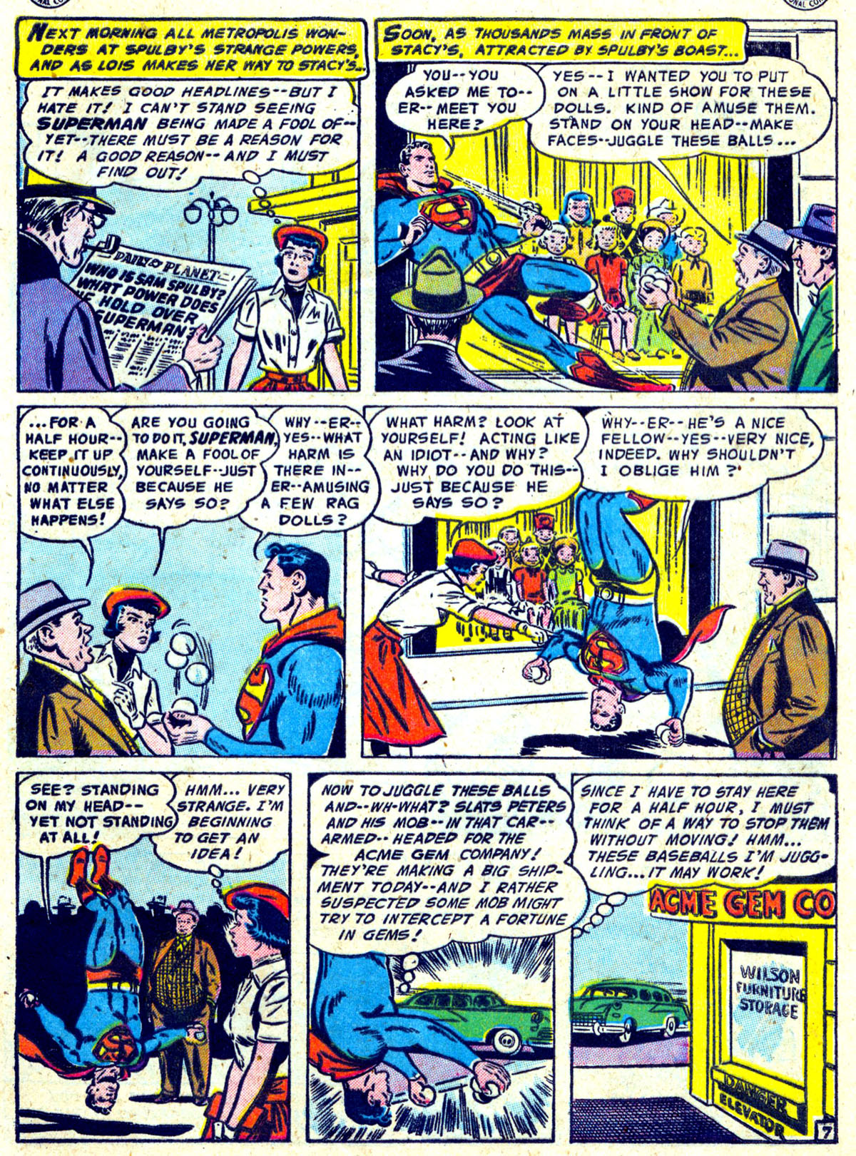 Read online Action Comics (1938) comic -  Issue #204 - 8