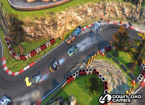 لعبة سيارات السباق بانج بانج راسينج